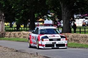 1989 Audi 80 of 2nd place Jan van Nierop