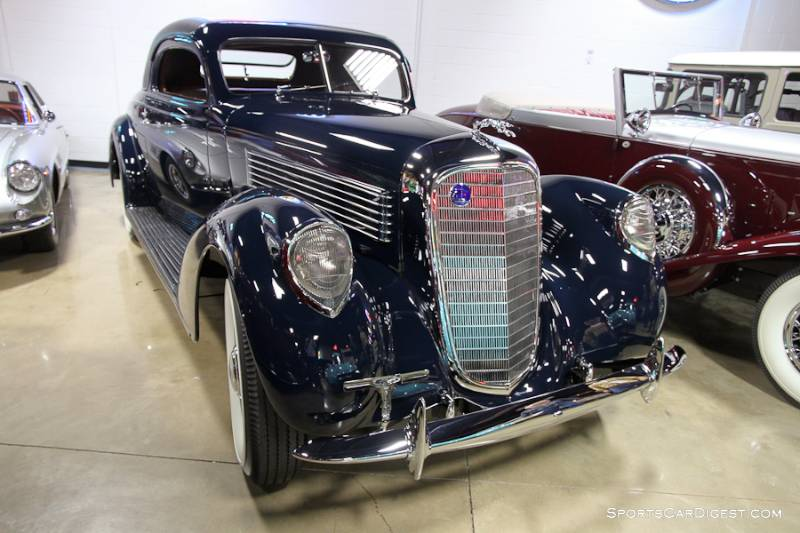 1938 Lincoln Model K Coupe, Body by LeBaron