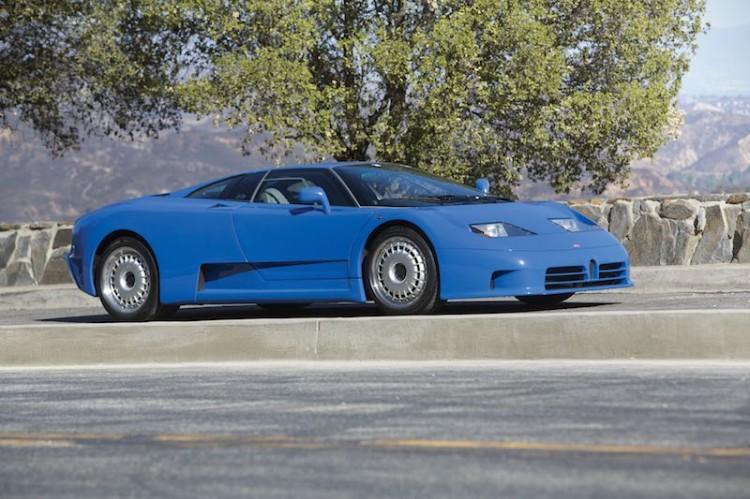 1993 Bugatti EB110 GT (photo: Pawel Litwinski)