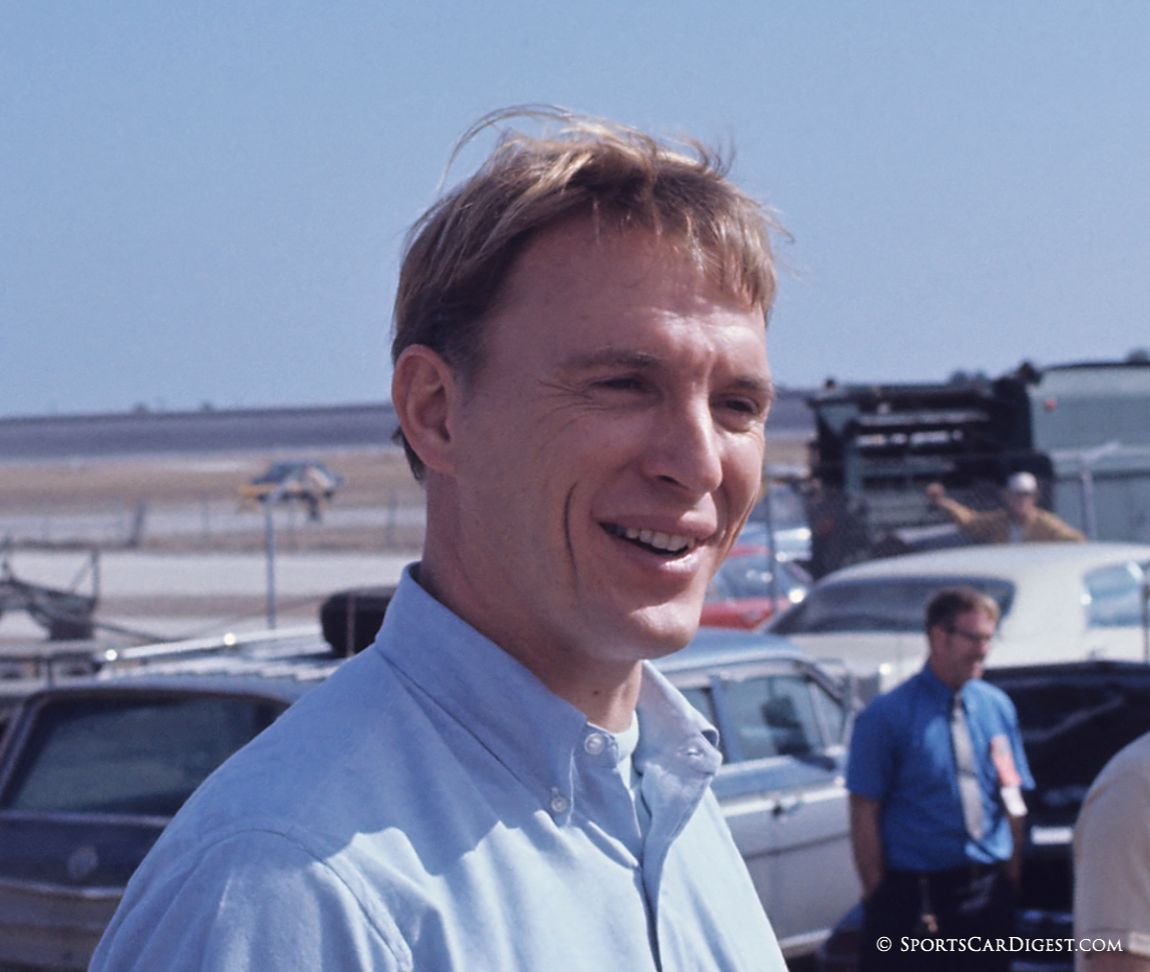 Dan Gurney drove a factory Ferrari 512S but it failed to finish. His co-driver was Chuck Parsons. (Fred Lewis photo)
