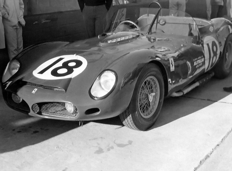 North American Racing Team Ferrari 330 TRI/LM, Pedro Rodriguez and Graham Hill, 1963 Sebring 12 Hours
