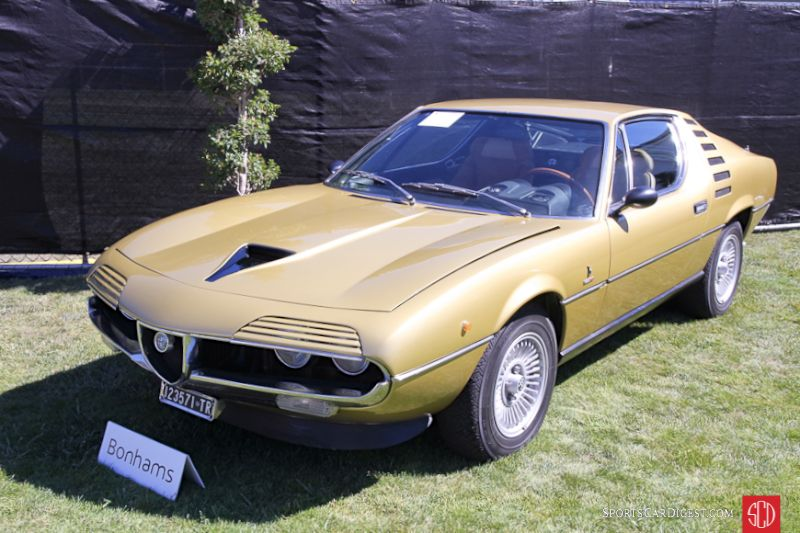 1972 Alfa Romeo Montreal Coupe, Body by Bertone