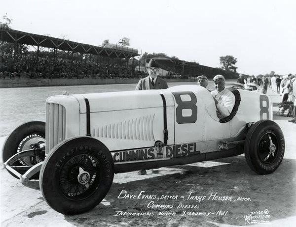 Dave Evans #8 Cummins Diesel Special, 1930 Indy 500