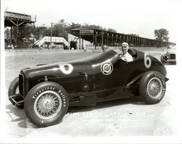Cliff Bergere Studebaker #6, 1933 Indy 500