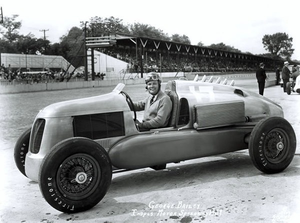 George Baily #17 Miller, 1939 Indy 500