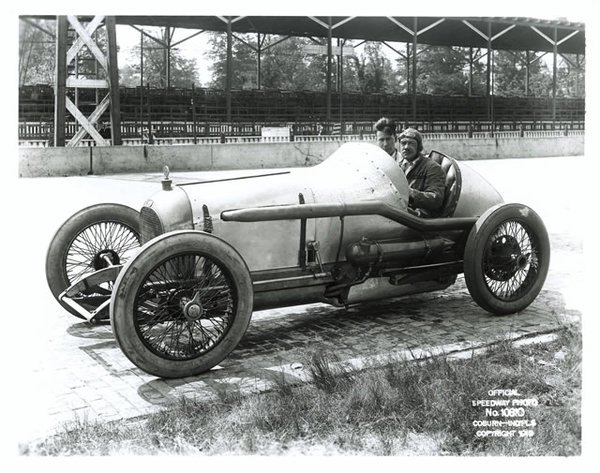 Roscoe Sarles Oldfield (Miller) #28 1919-the first Miller raced at Indy