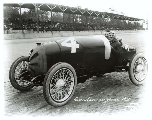 Gaston Chevrolet Monroe (Frontenac) #4, Winner 1920 Indy 500