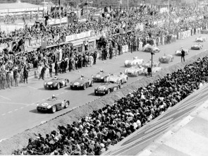 Start of the 1955 24-Hours of Le Mans