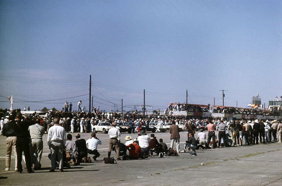 Start of the 1963 Sebring 12 Hours