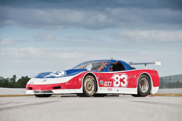 Paul Newman, Chevrolet Corvette, Riley Scott, Racing Car