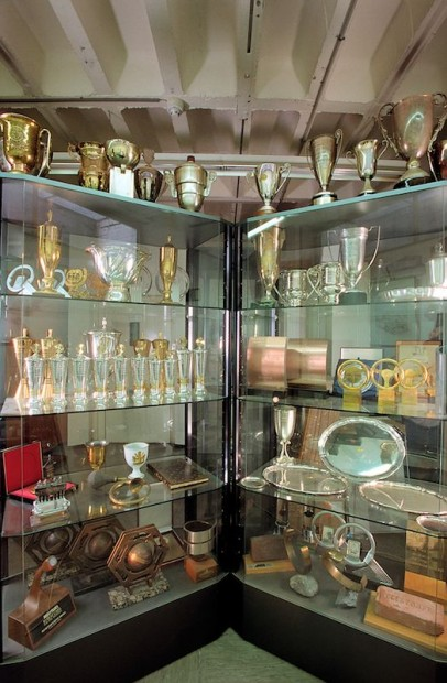 Daimler racing trophy collection