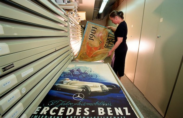 Mercedes-Benz promotional poster archive