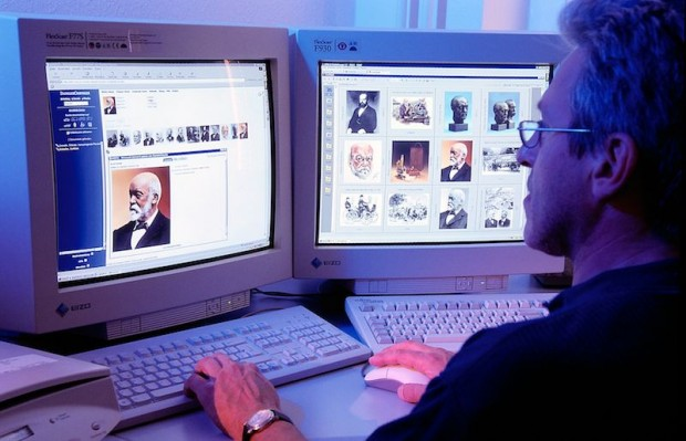 Digital source: the multimedia information system M@RS provides text and photographs on the product and corporate history via a web browser