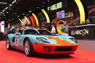 2006 Ford GT Heritage Edition sold for $475,000