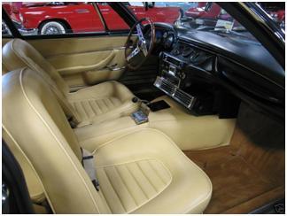 Monteverdi 375S For Sale - Interior