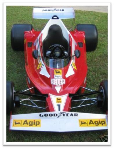 Ferrari 312 T2 Model Car Profile