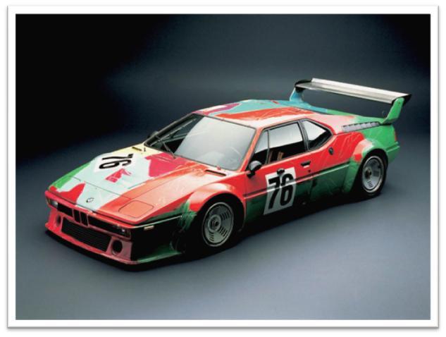 Andy Warhol BMW M1