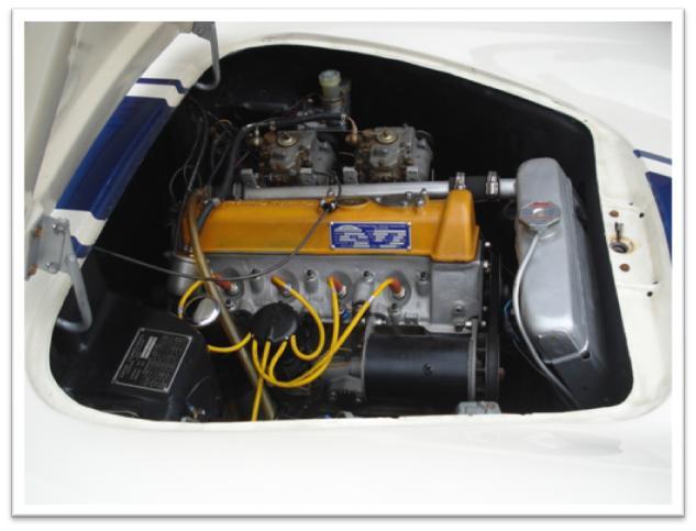 Lotus Elite Series II Engine