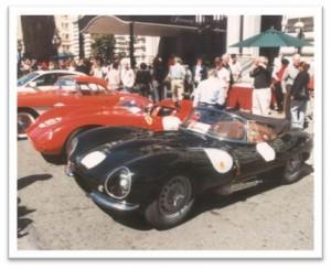Jaguar D-Type at California Mille