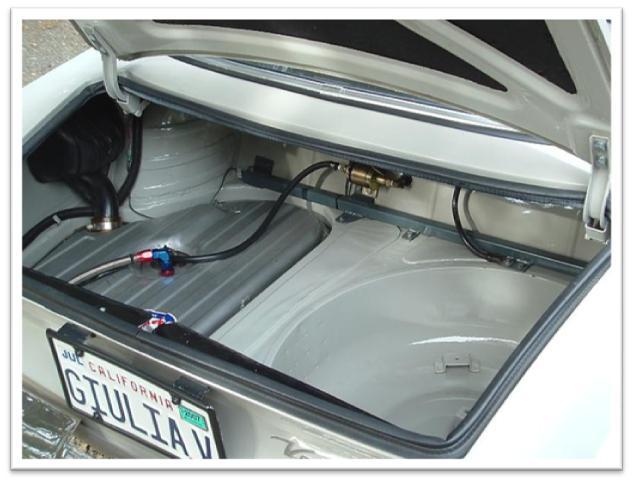 Alfa Romeo GTV For Sale - Trunk