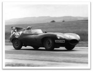 Stirling Moss - Long Nose D Type Jaguar, 393 RW