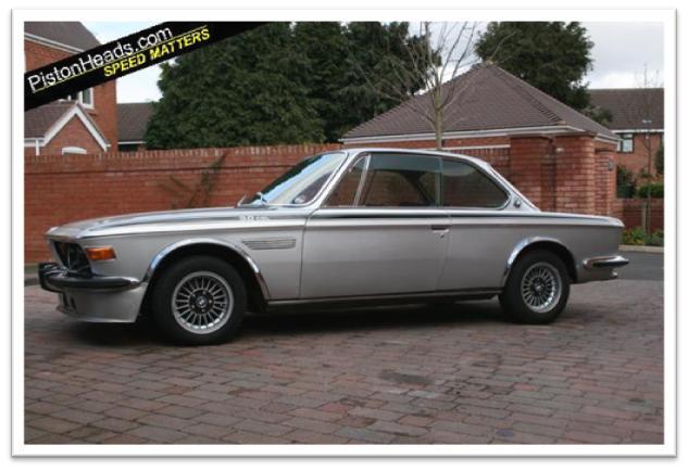 BMW 3.0 CSL Side