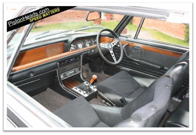 BMW 3.0 CSL Interior