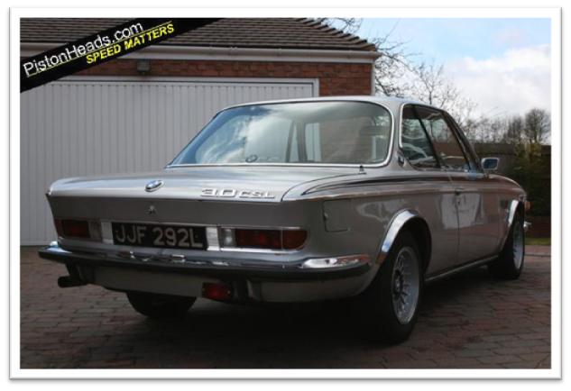 BMW 3.0 CSL Rear Photo