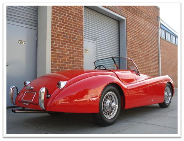 Jaguar XK120 Roadster For Sale