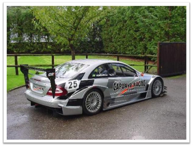 Mercedes Benz CLK DTM Right Rear