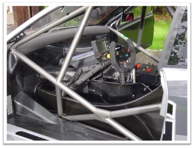 Mercedes Benz CLK DTM Interior