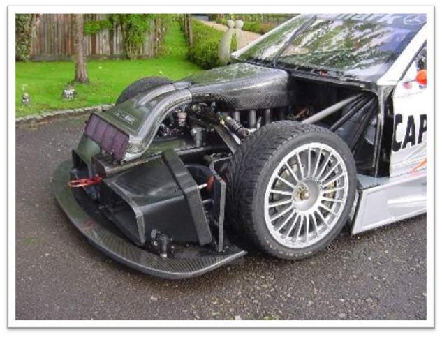 Mercedes Benz CLK DTM Engine