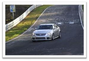 Cadillac CTS-V at Nurburgring