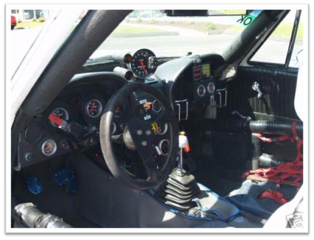 Chevrolet Corvette La Carrera Panamericana Race Car Interior