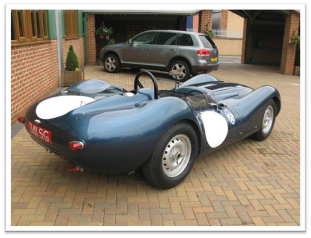 1958 Lister Jaguar Rear Photo