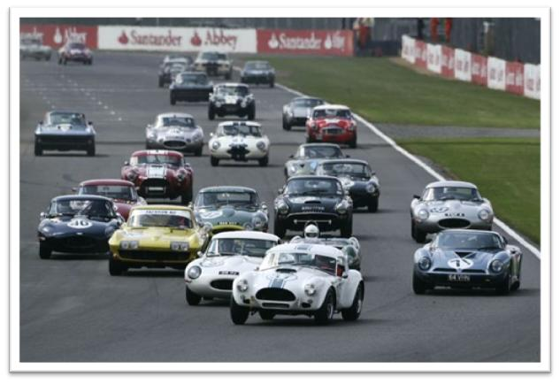 Silverstone Classic Gentlemen Drivers GT and Sports Endurance Masters