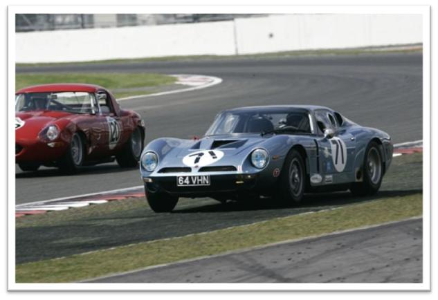 Silverstone Classic Gentlemen Drivers GT and Sports Endurance Masters Bizzarrini 5300