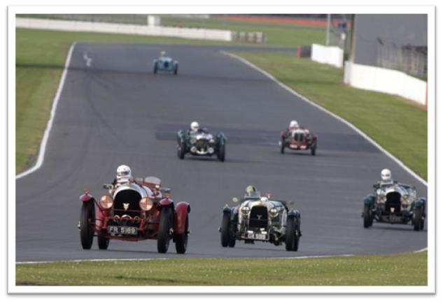 BRDC 500 Trophy for Pre-war Sports Cars