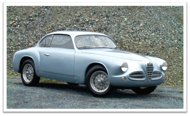 1952 Alfa Romeo 1900C Berlinetta by Touring