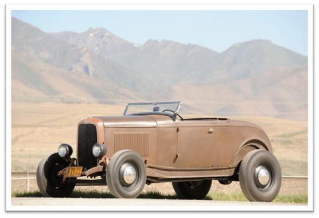 1932 Ford Custom Hi-Boy Roadster