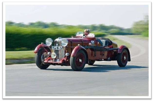 1936 Lagonda LG45R Rapide Sports-Racing Two-Seater, 1936 Grand Prix de L'ACF, 1936 and 1937 RAC Tourist Trophy,1936 BRDC Brooklands 500-Mile Race, 1937 Le Mans, 1952 Goodwood Nine Hours