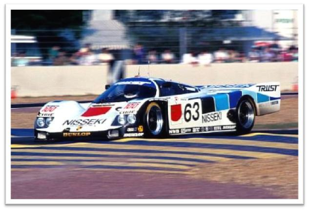 Ex-Team Trust - double-Le Mans 24-Hour race 1990-91 Porsche Type 962 Group C Racing Coupe