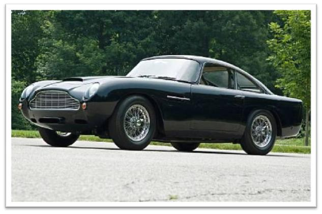 1961 Aston Martin DB4 GT Coupe Coachwork by Touring