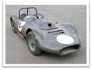 Ex-John Horridge 'Ecurie Bullfrog' Lister Sports Racer 'DEN 275'