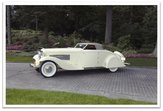 1935 Duesenberg J Roadster Best of Show Meadow Brook