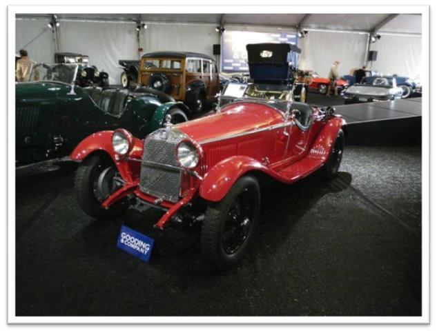 1931 Alfa Romeo 6C 1750 GS Spider