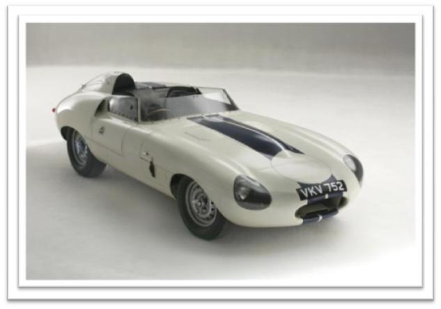 1960 Jaguar E2A Le Mans Prototype