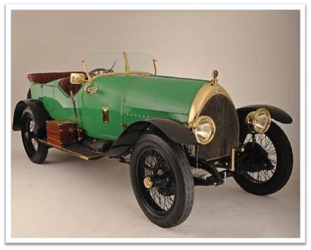 1913 Isotta Fraschini 100-120 hp Tipo KM 4 Four-Seat Torpedo Tourer