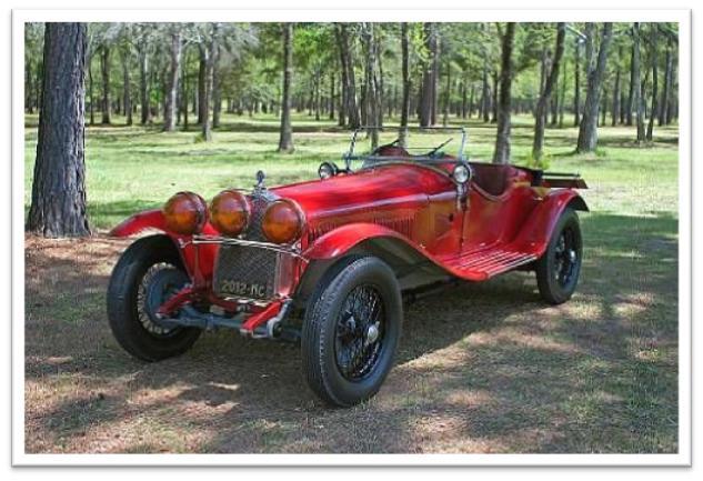1930 Alfa Romeo 6C 1750 Gran Sport Spyder