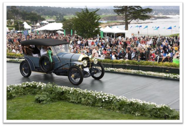 1914 Peugeot Type 150 Phaeton, Bill Johnston